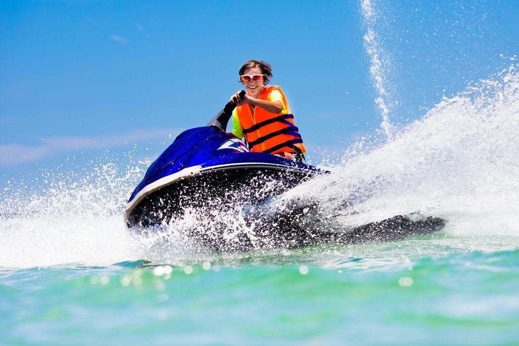 water scooter, Krystal International Vacation Club